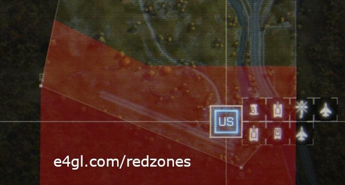 US Redzone of Caspian Border