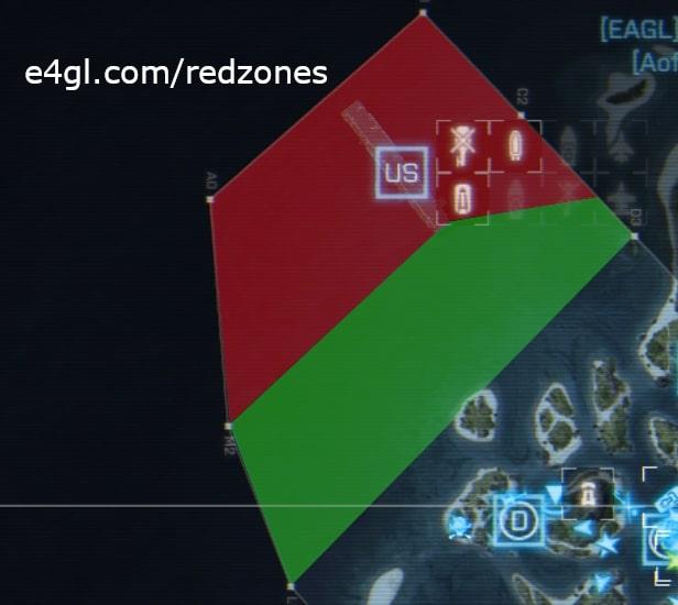 US Redzone of Lost Island