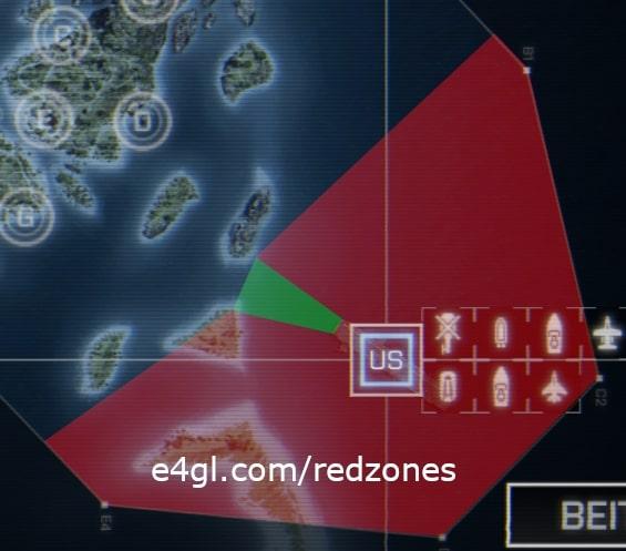 US Redzone of Operation Mortar