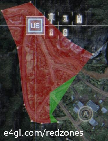 US Redzone of Operation Breakout