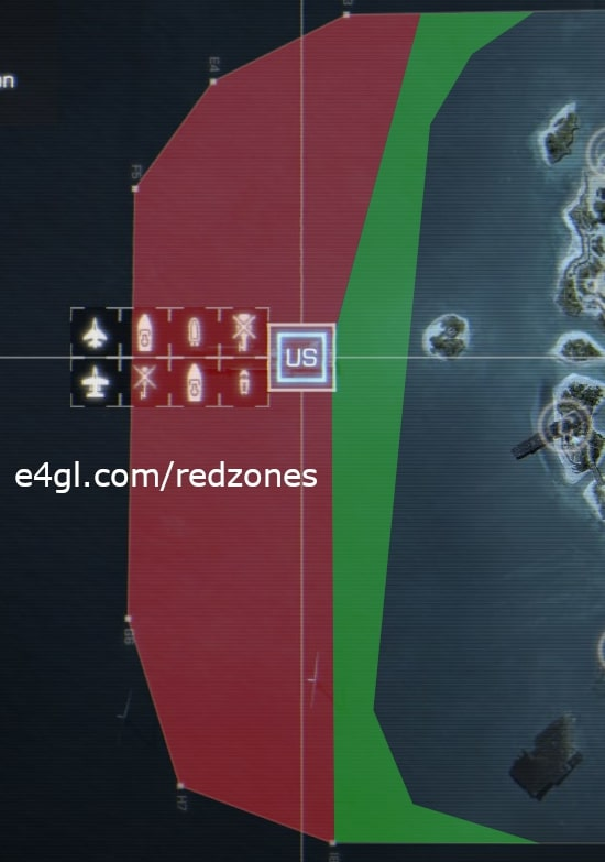 US Redzone of Paracel Storm